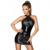 Noir Dress 2-way Zip