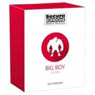 Προφυλακτικά Secura Big Boy 60mm 100 τεμαχίων