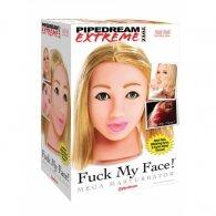 Ομοίωμα Γυναικείου Κεφαλιού για στοματικό Fuck My Face Blonde