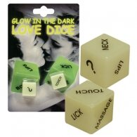 Φωσφοριζέ Ζάρια επιτραπέζιο παιχνίδι για ερωτικά προκαταρκτικά