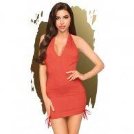 Κόκκινο Μίνι Φόρεμα Penthouse Earth-Shaker