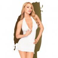 Λευκό Μίνι Φόρεμα Penthouse Earth-Shaker