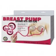 Electric Breast Pump Enlarger with Twin Cups