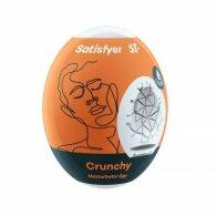 Αυγό Μανίκι Αυνανισμού για Άνδρες Satisfyer Crunchy