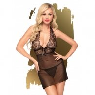 Penthouse Sweet & Spicy Chemise Black