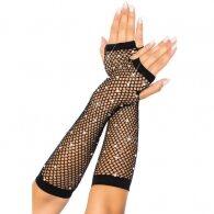 Δικτυωτά Γάντια με Διαμάντια Leg Avenue