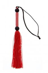 GP SILICONE FLOGGER WHIP RED