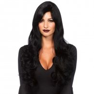 Leg Avenue Long Wavy Black Wig