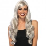 Leg Avenue Long Wavy Grey Wig