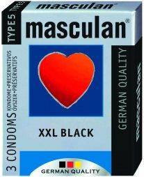 MASCULAN XXL Black 3 St.