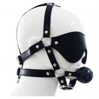 Black Mask with Ball Gag
