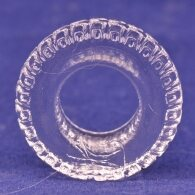 Tyre Shape Clear Color Cock Ring