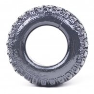 Tyre Shape Black Color Cock Ring