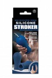 SILICONE STROKER BLUE
