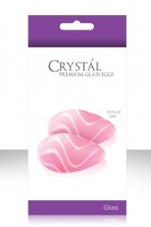 Crystal Kegels Eggs Pink