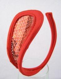Κόκκινο γυναικείο c-string με πέρλες
