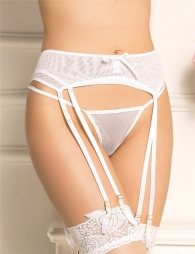 Sexy White Garter