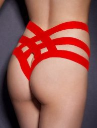Cage Bandage Brief Thong