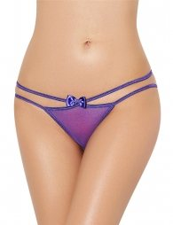 Sexy Purple Double Straps Panty