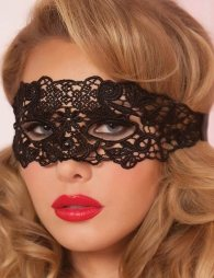 Enchanting Black Lace eye mask