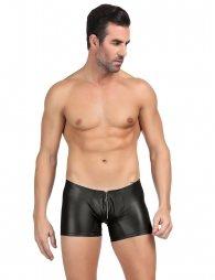 Black Men's Pants With Zipper