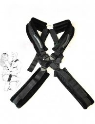 Sex aids men and women shoulder straps