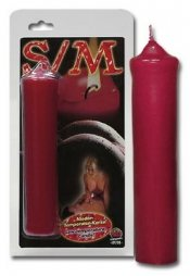 S/M Candle red