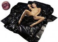 Bed Sheet Μαύρο σεντόνι από vinyl