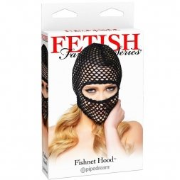 Μάσκα FETISH FANTASY FISHNET HOOD