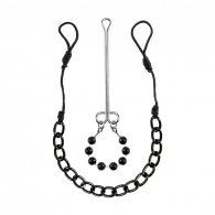 Fetish Fantasy Limited Edition Nipple & Clit Jewelry Black