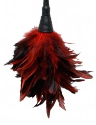 FF FRISKY FEATHER DUSTER RED