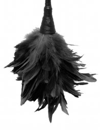 FF FRISKY FEATHER DUSTER BLACK