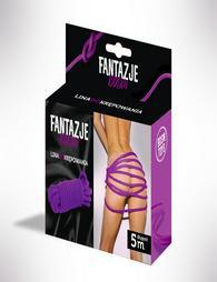 Fantasy BDSM Restraint Rope Violet  5m