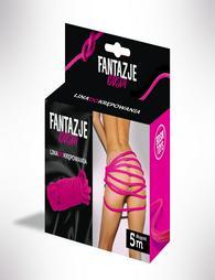 Fantasy BDSM Restraint Rope Pink 5m