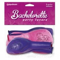 Bachelorette Party Favors Pecker Balloons Pink And Purple