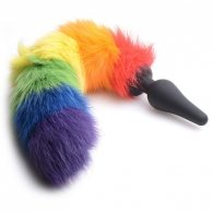 PLUG ANALE RAINBOW TAIL