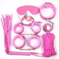 Bondage kit (pink)