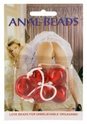 CLEAR ANAL BEADS LARGE 20 cm