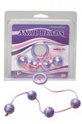 Marble Collection Anal Beads Medium Pur