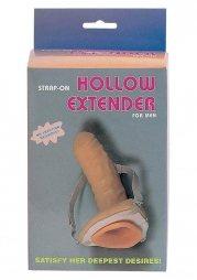 Strap-On Hollow Extender 18 cm