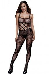 Lace and Multi-netted Bodystocking