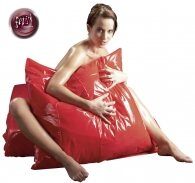 Fetish Collection Pillow Vinyl Red 80 X 80 cm