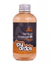 Ερωτικό Μασάζ Ροδάκινο Sensual Massage Oil - 250ml - Peach